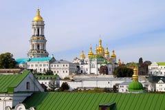 Orthodox Monastery - Kiev Pechersk Lavra Stock Photography