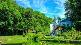 The orthodox monastery stock video