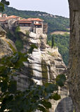 Orthodox, monastery at Meteora, G Royalty Free Stock Photography