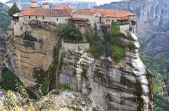 Orthodox, monastery at Meteora, Greece Royalty Free Stock Photography