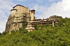 Orthodox, monastery at Meteora, Greece Stock Photo