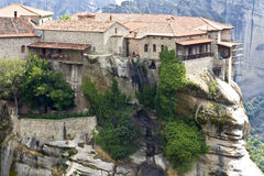 Orthodox, monastery at Meteora near Kalambaka in G Royalty Free Stock Photography