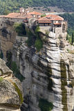 Orthodox, monastery at Meteora, reece Stock Photography