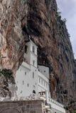 Orthodox monastery of Ostrog, Montenegro. royalty free stock photography