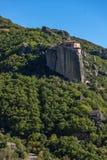 Orthodox Monastery of Rousanou in Meteora, Greece Stock Photo