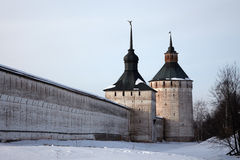 Orthodox monastery, Russia Royalty Free Stock Images