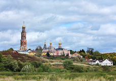 Orthodox monastery in Ryazan region Royalty Free Stock Photo