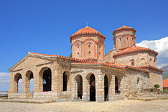Orthodox monastery St Naum in Ohrid Stock Images