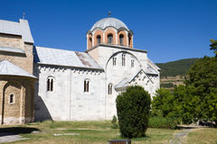 The orthodox monastery Studenica in Serbia Royalty Free Stock Photos