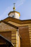 Orthodox monastery Tikhonova Pustyn in the Kaluga region (Russia). Stock Image