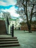 Orthodox monastery Tikhonova Pustyn in the Kaluga region (Russia). Stock Photo