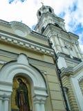 Orthodox monastery Tikhonova Pustyn in the Kaluga region (Russia). Tikhonova Pustyn Holy Dormition monastery of the Russian Orthodox Church, situated in the Royalty Free Stock Image