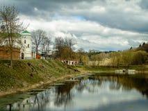 Orthodox monastery Tikhonova Pustyn in the Kaluga region (Russia). Tikhonova Pustyn Holy Dormition monastery of the Russian Orthodox Church, situated in the Stock Photos