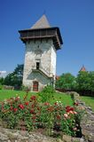 Orthodox monastery tower Stock Image