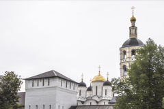 Orthodox monastery in the town of Borovsk near Moscow. Stock Photo