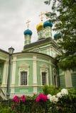 The Orthodox monastery of Vvedenskaya Optina Pustyn in the Kaluga region of Russia. Stock Photos
