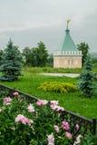 The Orthodox monastery of Vvedenskaya Optina Pustyn in the Kaluga region of Russia. Vvedenskaya Optina monastery — stavropighial monastery of the Russian Stock Image