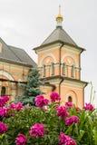The Orthodox monastery of Vvedenskaya Optina Pustyn in the Kaluga region of Russia. Vvedenskaya Optina monastery — stavropighial monastery of the Russian Royalty Free Stock Image