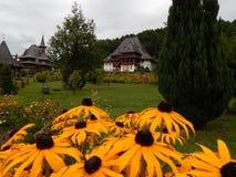 Orthodox monastry. Monastry in the Northen part of Romania, Maramures Stock Images