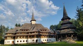 Orthodox monastry. Monastry in the Northen part of Romania, Maramures Stock Photo