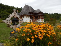Orthodox monastry. Monastry in the Northen part of Romania, Maramures Royalty Free Stock Images