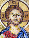 Orthodox mosaic icon. At the Archdiocese of Râmnic. The Archdiocese of Râmnic is a Romanian Orthodox archdiocese based in Râmnicu Vâlcea, Romania, in the Royalty Free Stock Image