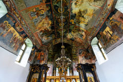 Orthodox mural painting Royalty Free Stock Image