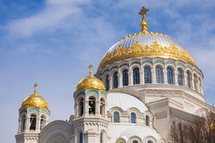 Orthodox Naval cathedral of St. Nicholas Stock Photography