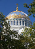 Orthodox Naval cathedral of St. Nicholas Stock Image