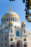 Orthodox Naval cathedral of St. Nicholas Stock Photos