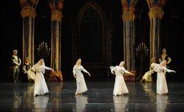 Orthodox nun-The Swan Lakeside-ballet Swan Lake Stock Image