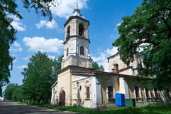Orthodox old church built Royalty Free Stock Images