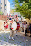 Orthodox Palm Sunday in Nazareth Royalty Free Stock Images