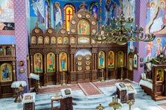 The Orthodox parish of St. Nicholas Altar A. POLAND, SZCZECIN - 30 JUNE 2015: The Orthodox parish of St. Nicholas Altar A Stock Photos