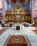 The Orthodox parish of St. Nicholas nave. POLAND, SZCZECIN - 30 JUNE 2015: The Orthodox parish of St. Nicholas nave Stock Photo