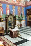 The Orthodox parish of St. Nicholas A. POLAND, SZCZECIN - 30 JUNE 2015: The Orthodox parish of St. Nicholas A stock photo