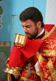 Orthodox priest Royalty Free Stock Image