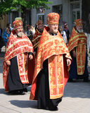 Orthodox priests Royalty Free Stock Photo
