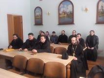 Orthodox priests. Stock Images