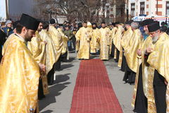 Orthodox procession Royalty Free Stock Photo