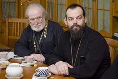 Orthodox readings in Gomel. Stock Photos