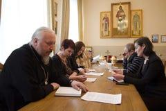 Orthodox readings in Gomel. Royalty Free Stock Photos