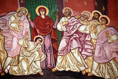 Orthodox religious paintings Royalty Free Stock Photography