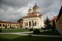Orthodox romanian cathedral Royalty Free Stock Images