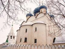 Orthodox Russia. Ancient cathedral Royalty Free Stock Photos