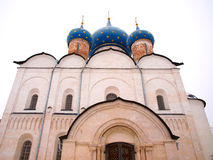 Orthodox Russia. Ancient cathedral Stock Images
