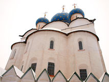 Orthodox Russia. Ancient cathedral Royalty Free Stock Photo