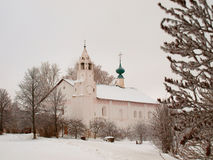 Orthodox Russia. Ancient Zachatievskaia church in Stock Photo