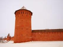 Orthodox Russia. Monastic walls Royalty Free Stock Photography