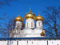 Orthodox Russia. Sviato-Troicskiy cathedral Royalty Free Stock Photos